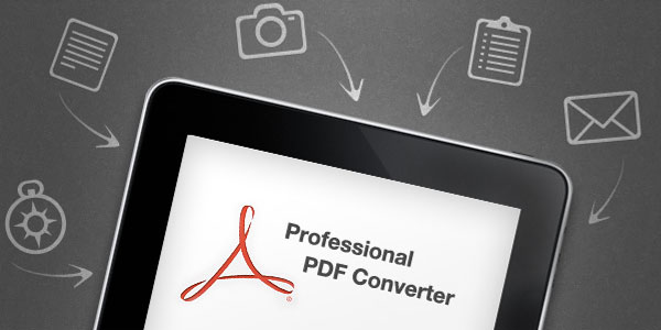 how to convert word document to pdf on ipad
